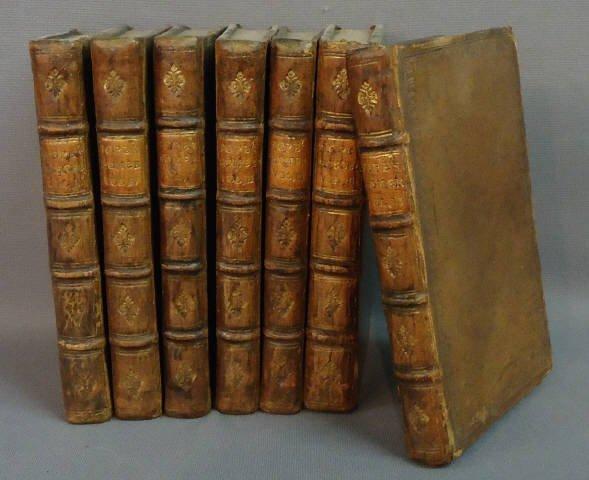 72: SEVEN VOLUMES 'WORKS OF ALEXANANDER POPE'