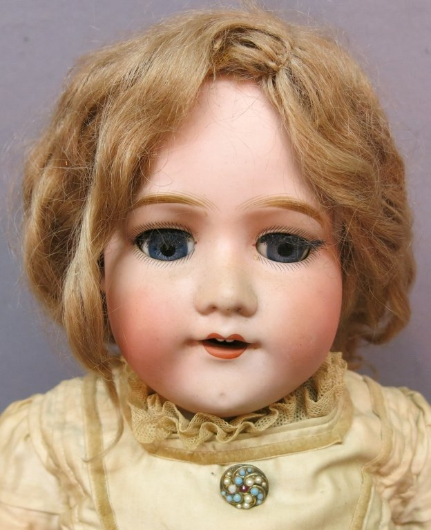 MORIMURA BROTHERS BISQUE SOCKET HEAD DOLL