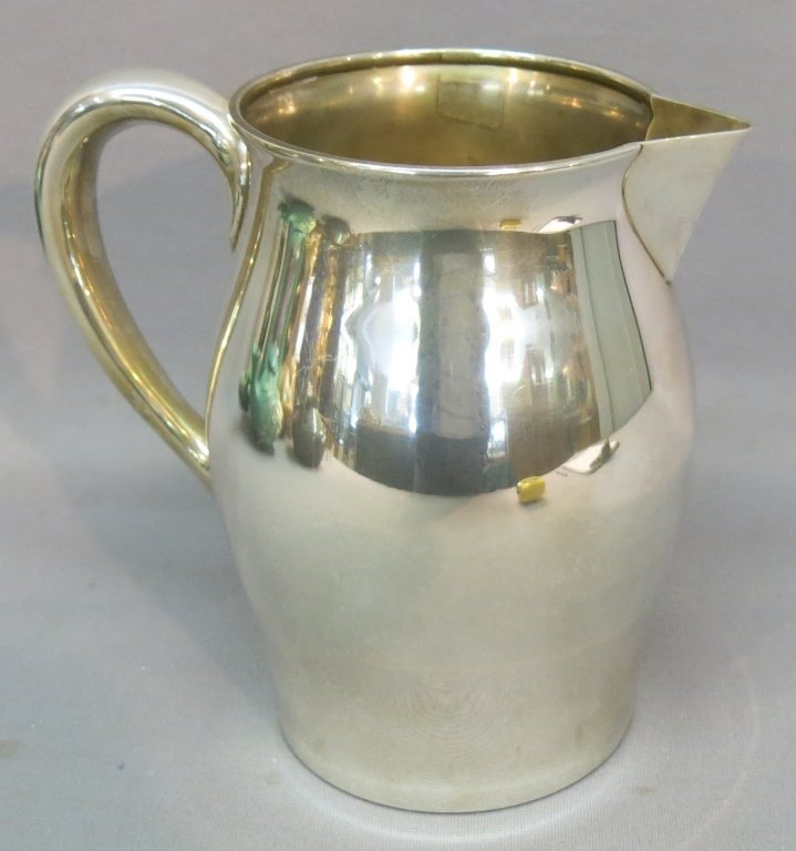PAUL REVERE REPRODUCTION SILVER WATER PITCHER