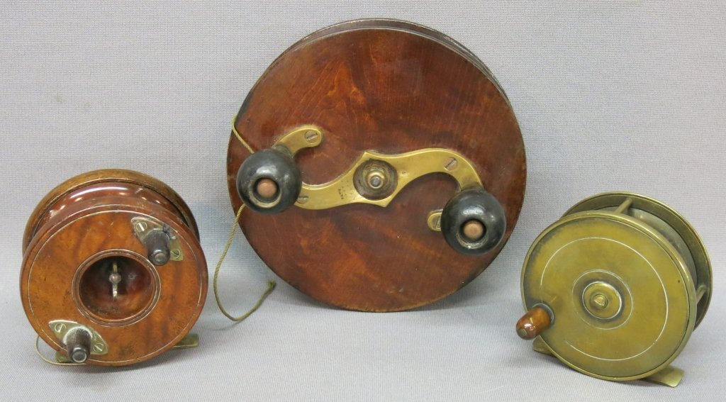 LOT OF 3 TURN OF THE CENTURY FISHING REELS