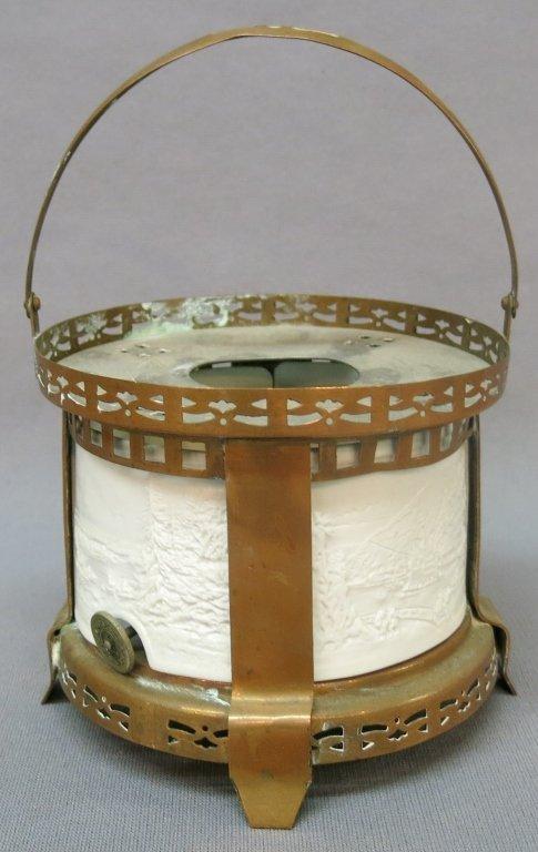 LATE 19TH C. MINIATURE LAMP