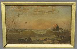 CHARLES H GIFFORD PAINTING OF CRASHING WAVES