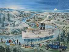 JANE SHELLEY PIERCE  THE NEW YORK BOAT
