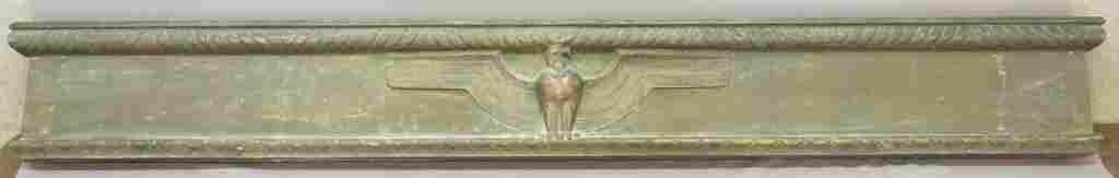 ART DECO BRONZE DOOR SURROUND W EAGLE DESIGN