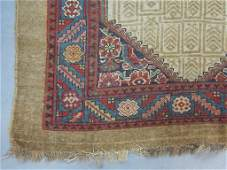 CAMEL GROUND PERSIAN AREA RUG
