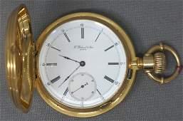 18K GOLD POCKET WATCH CIRCA 1865
