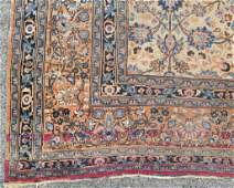PERSIAN TABRIZ CARPET  101 X 135