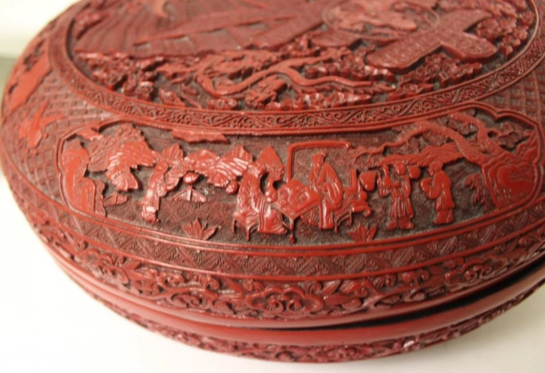 HUGE CHINESE LACQUER   BOX - 2