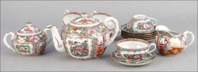 1: CHIINESE PORCELAIN TEA SERVICE
