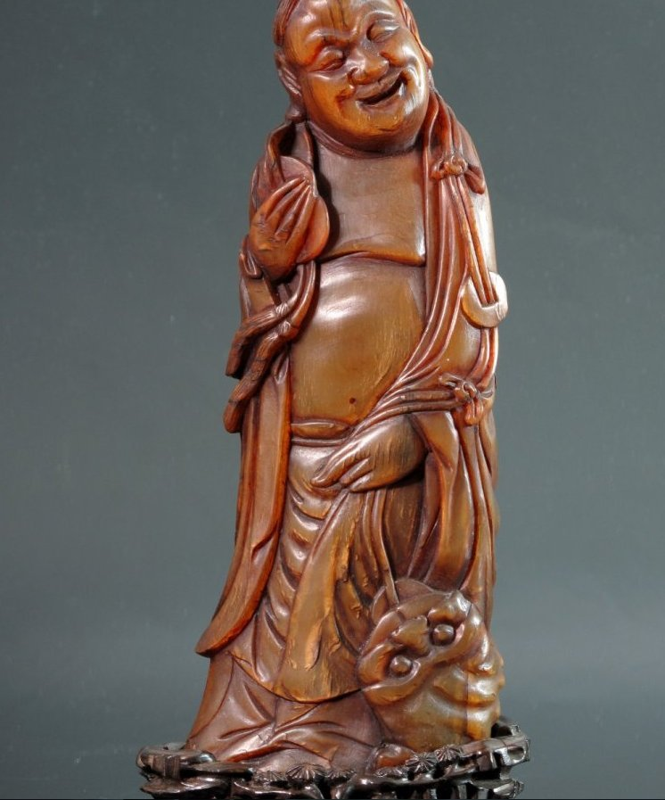CHINESE QING HORN CARVING