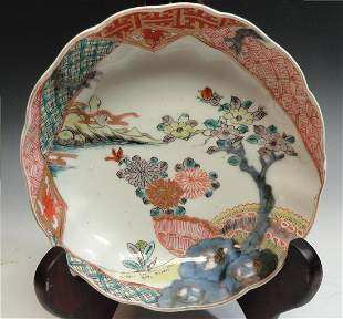 19th Century Antique Japanese Arita Bowl