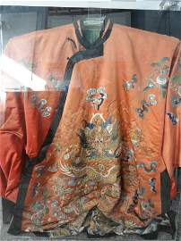 014: Important  Imperial Silk Embroidery Dragon Robe