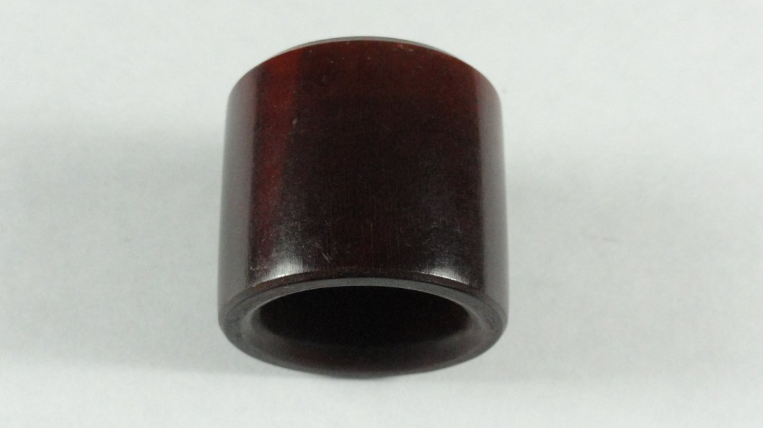 091: An antique Chinese Horn Archer Ring