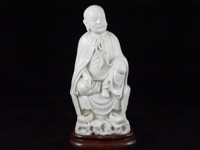 074: Fine 17th Century Chinese Blanc De Chine Statue