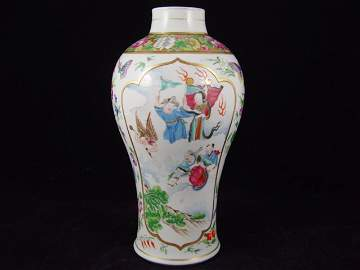 Fine 18th Century Chinese Famille Rose Vase.