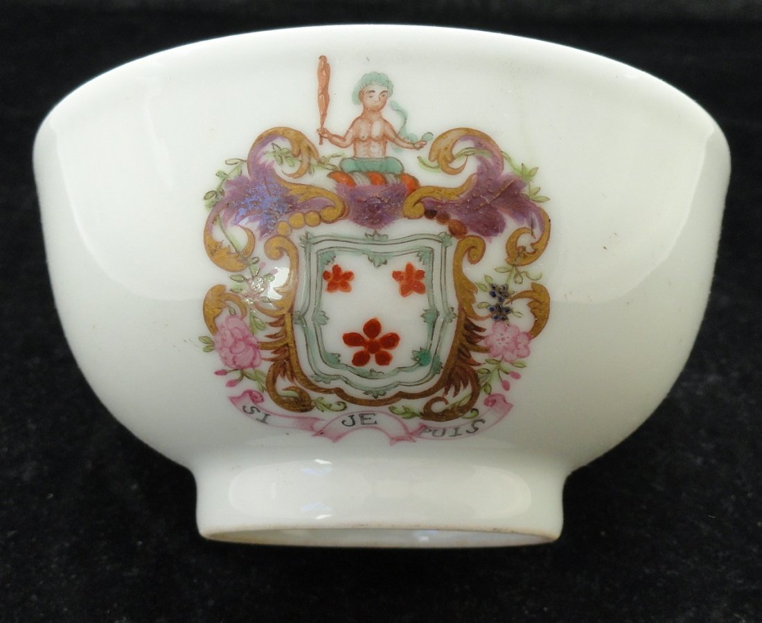 18th Century Chinese Export famille Rose bowl