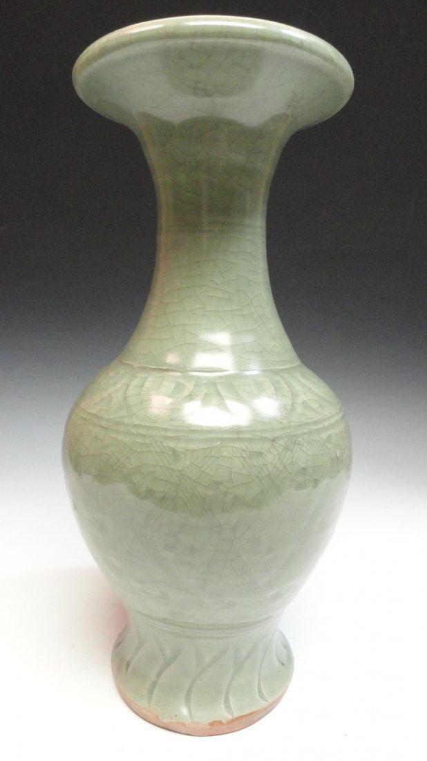 Large 16th Century Chinese Celadon Vase