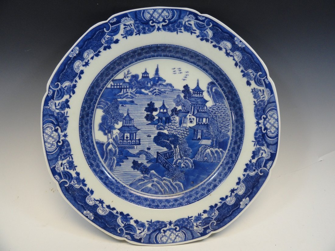 Large Chinese 19th Century Chinese Export Charger