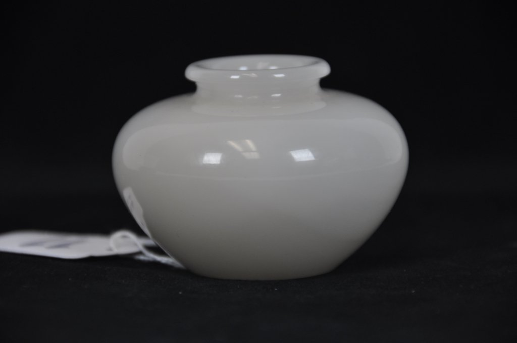 11: ANTIQUE WHITE JADE BRUSHWASHER  Tall : 2 inches 5cm