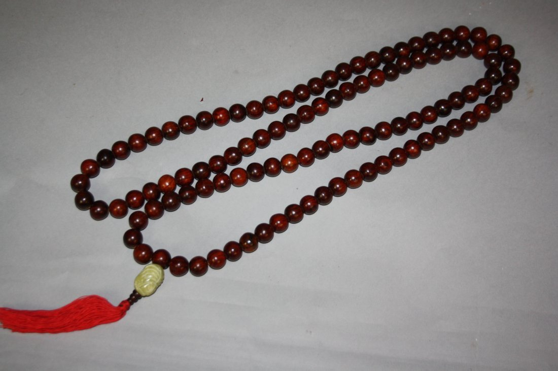 1: Chinese Rosewood Beads Neckale HuangHuaLi Long : 150