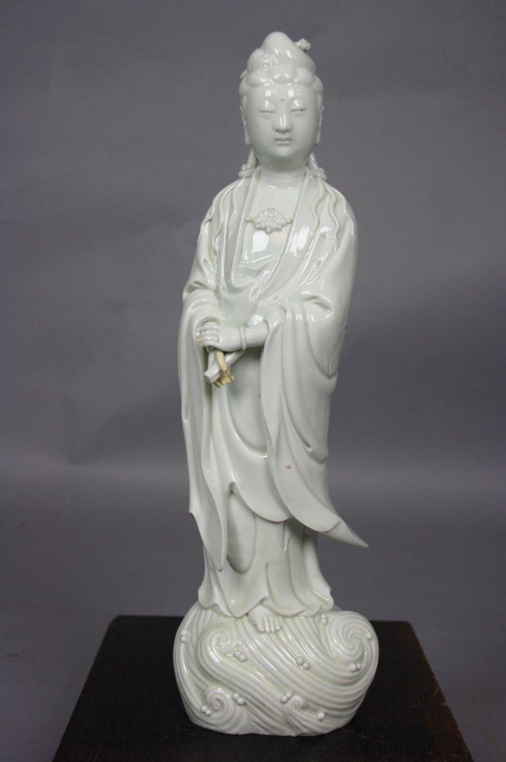 18:   17th - 18th Century White Porcelain Model of Stan