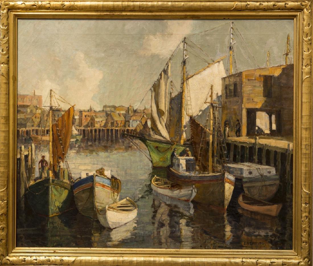 Jeannette B. Irving 1904-1947 Gloucester Harbor
