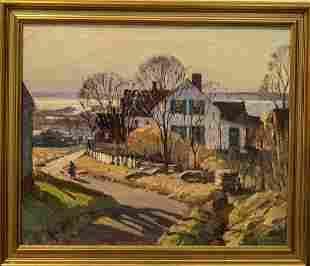 Antonio Cirino 1888-1983 Sun's Setting Time