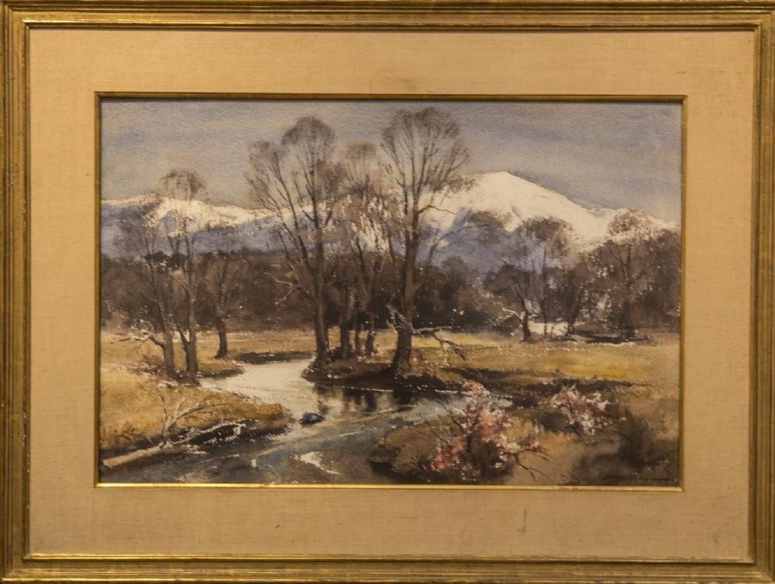 Harry Ballinger 1893-1993 Winter's End