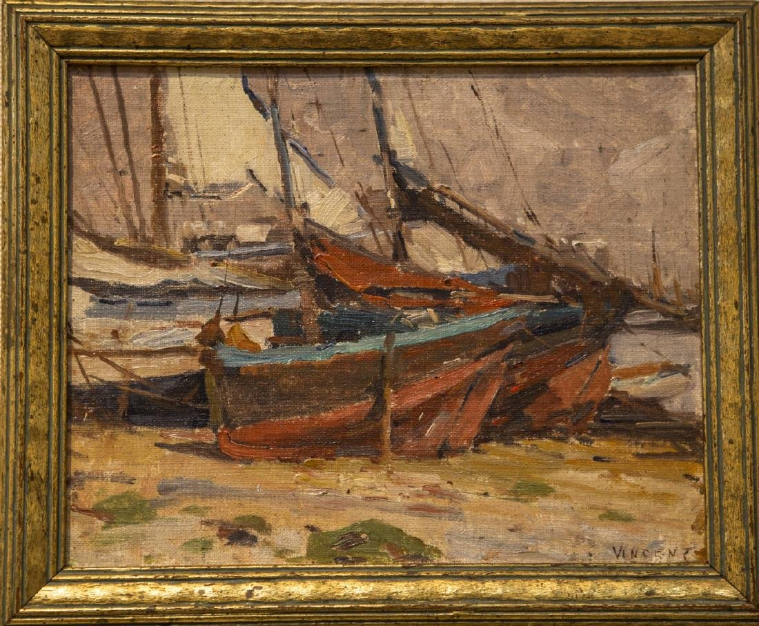 Harry A. Vincent 1864-1931 In Dry Dock