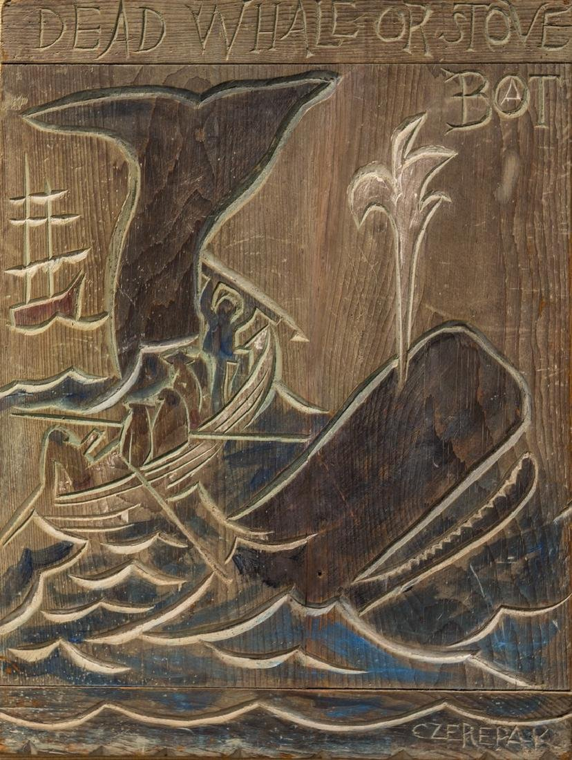 Al Czerepak 1928-1986 Dead Whale Or Stove Boat