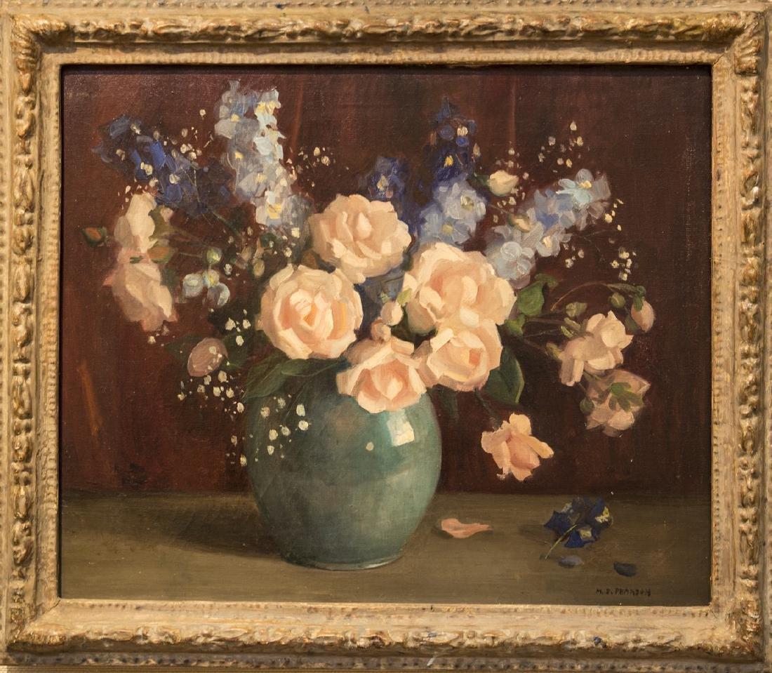 Marguerite S. Pearson 1898-1978 Floral Still Life