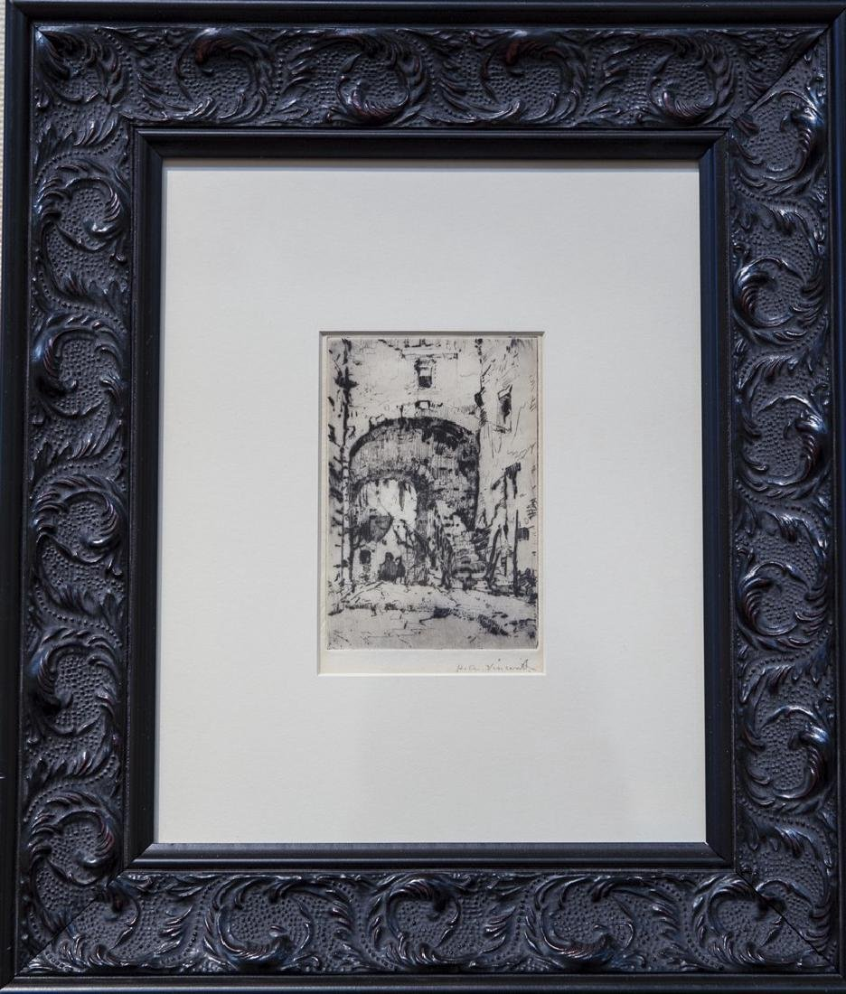 Harry A. Vincent 1864-1931 Venice Canal & Street