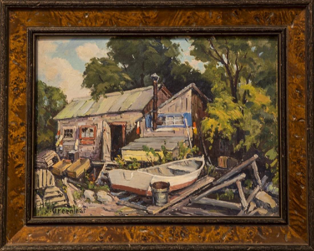 Jacob Greenleaf 1887-1968 Boatyard