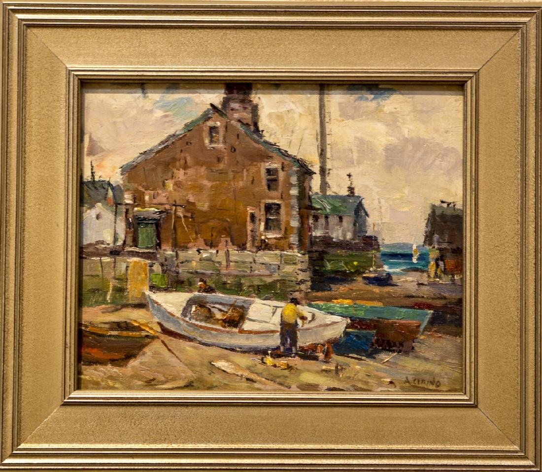Antonio Cirino 1888-1983 Rockport Harbor