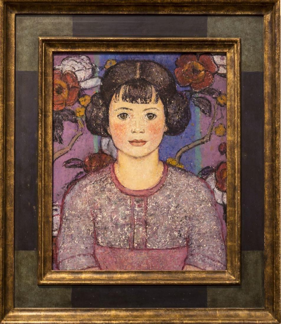 Emma Fordyce MacRae 1887-1974 Head Of A Child