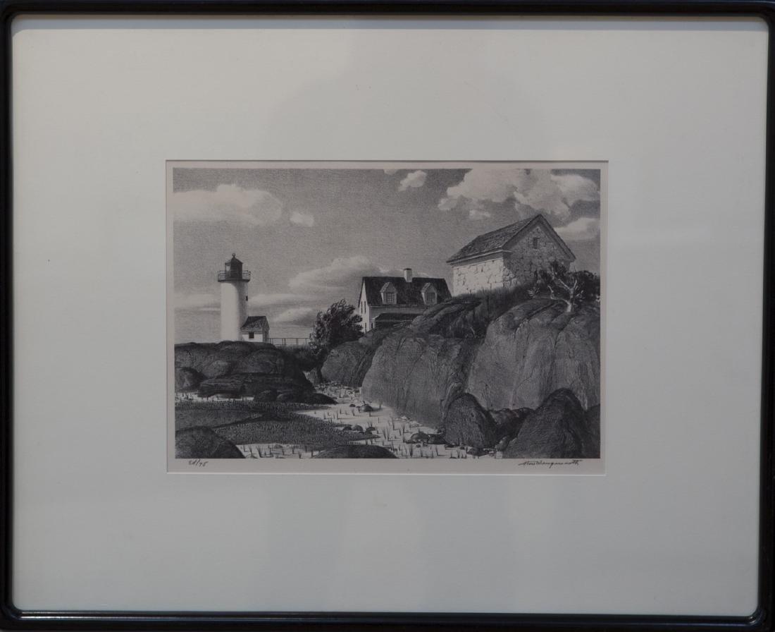 Stow Wengenroth 1906-1978 Annisquam Light