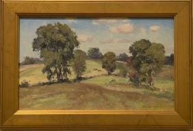Bernard Corey 1914-2000 Springtime Clouds