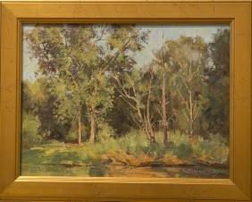 Bernard Corey 1914-2000 Along The Spring Stream
