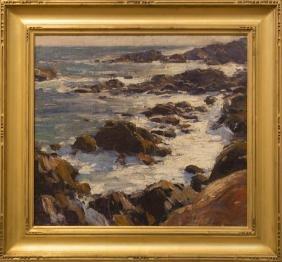 Emile Gruppe 1896-1978 Bass Rocks