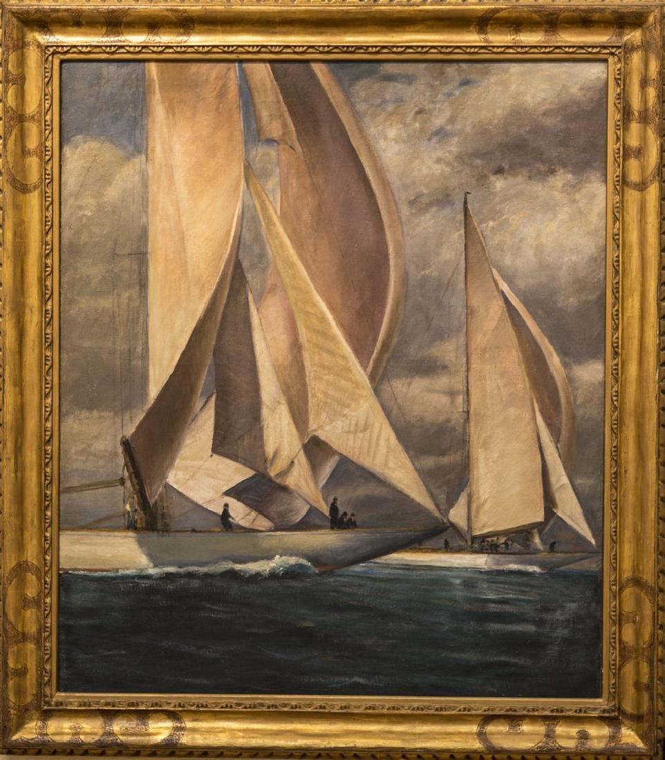Max Kuehne 1880-1968 J Boats