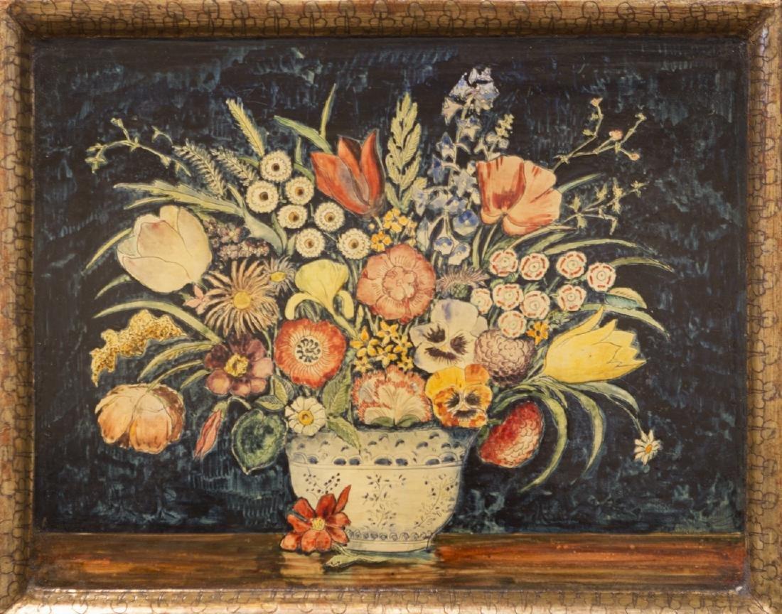 Max Kuehne 1880-1968 Floral Panel