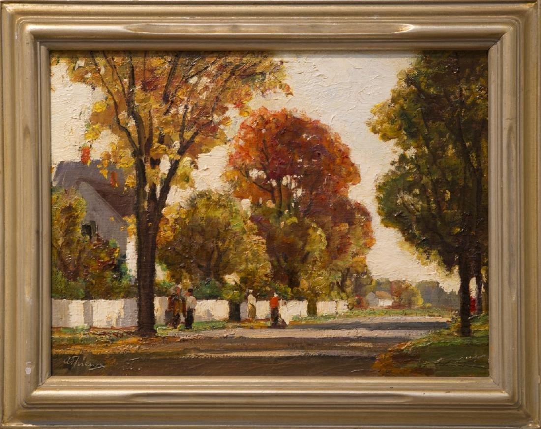 Anthony Thieme 1888-1954 South Street Rockport