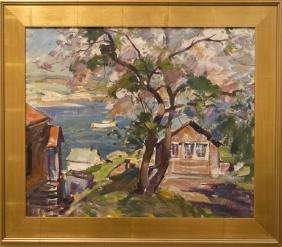 Emile Gruppe 1896-1978 Spring Gloucester
