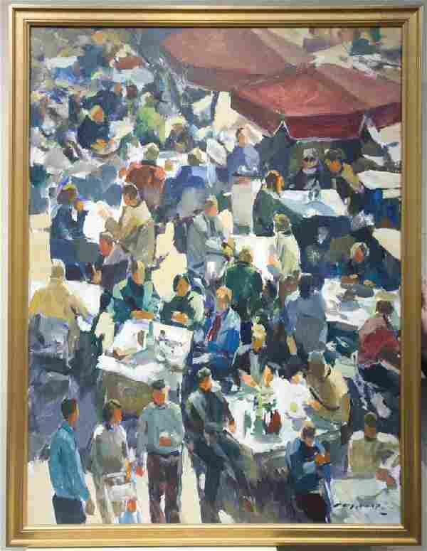 Charles Movalli 1945-2016 Outdoor Tea
