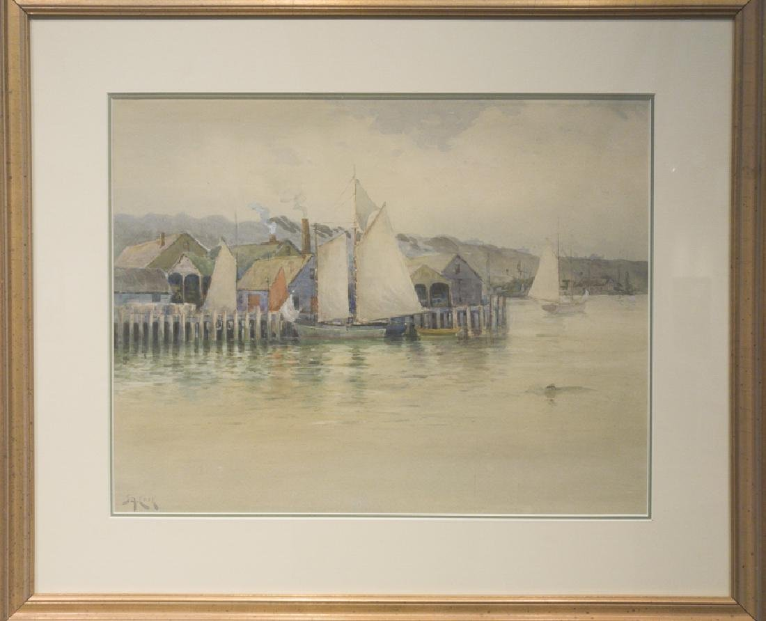 John A. Cook 1870-1936 Gloucester Docks