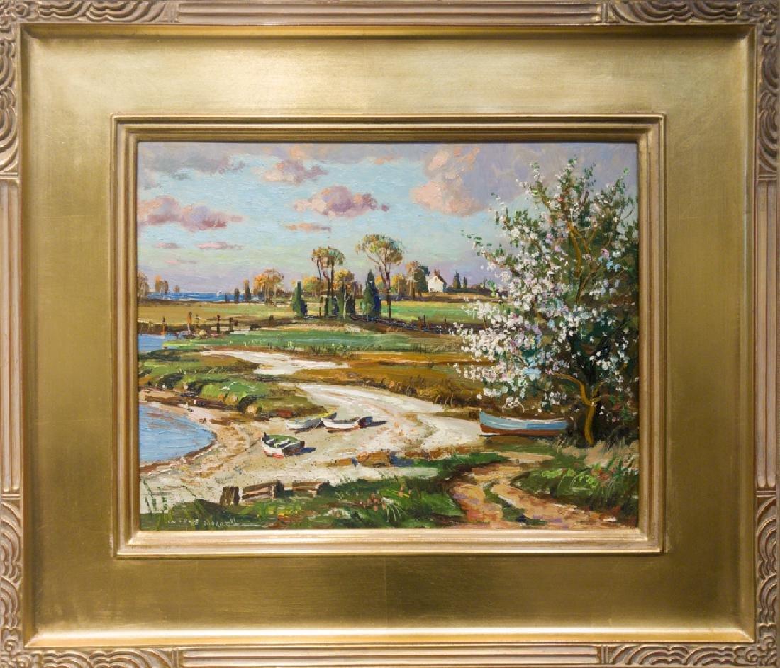 Wayne Morrell 1923-2013 A Spring Day - Essex, MA