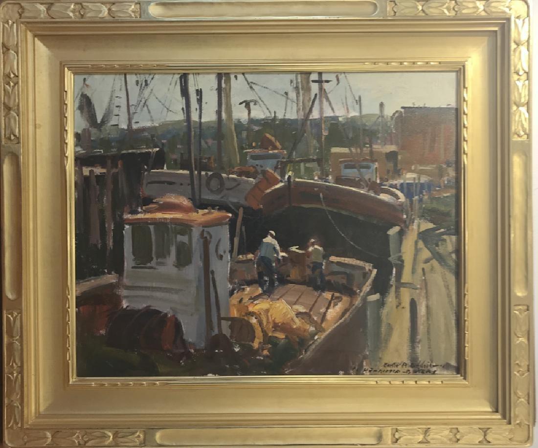 Emile Gruppe 1896-1978 Gloucester Harbor