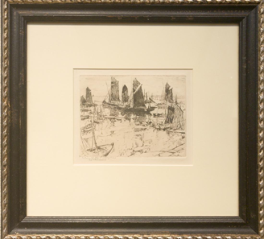 Harry A. Vincent 1864-1931 Return of the Fishing Fleet