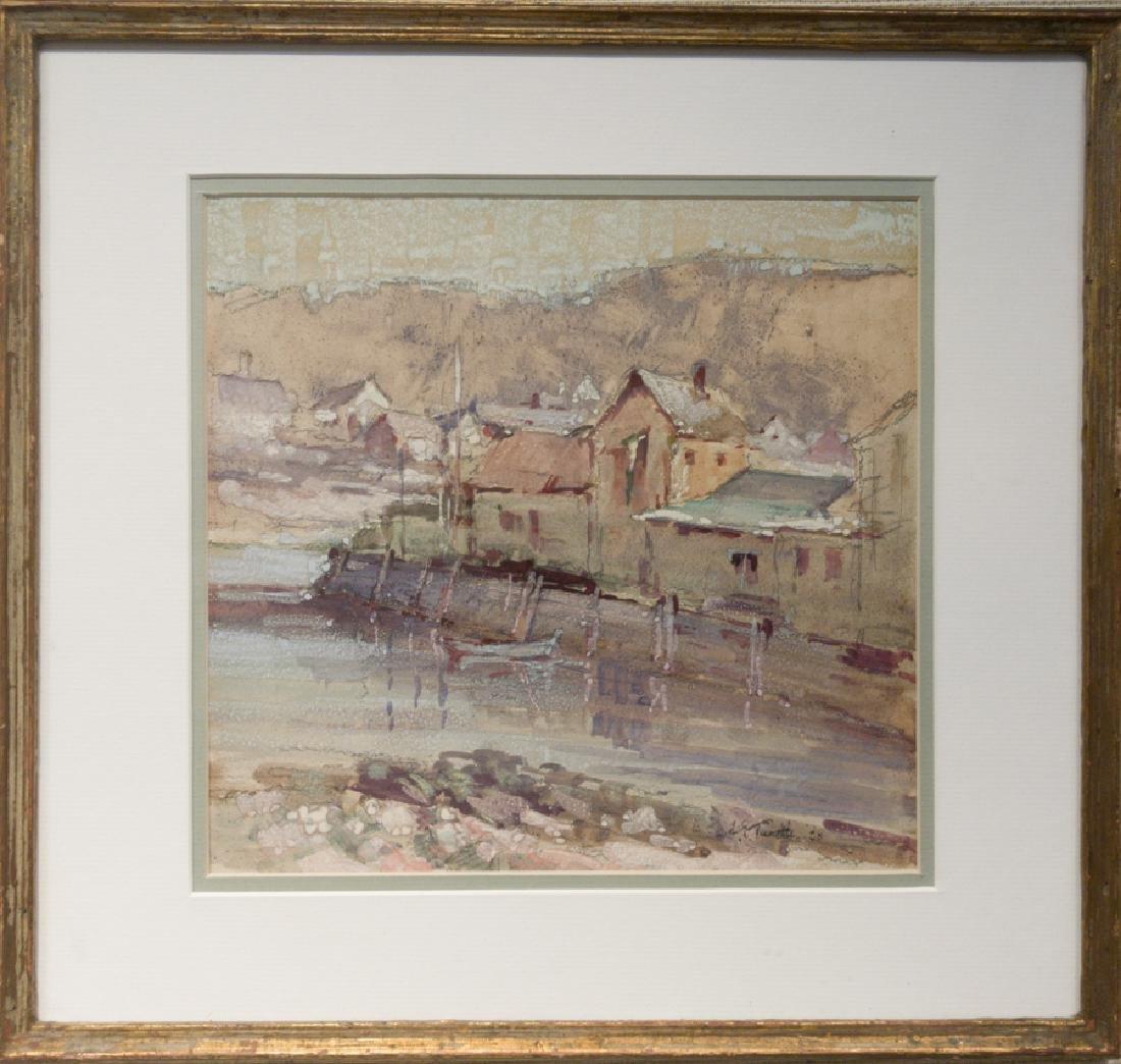 Arnold E. Turtle 1892-1954 Rockport Harbor (1938)