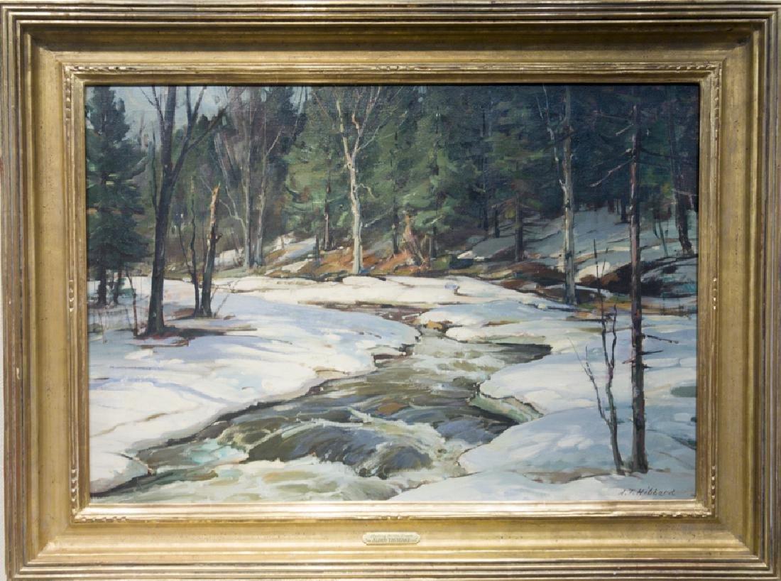 Aldro T. Hibbard 1886-1972 Rushing Winter Stream